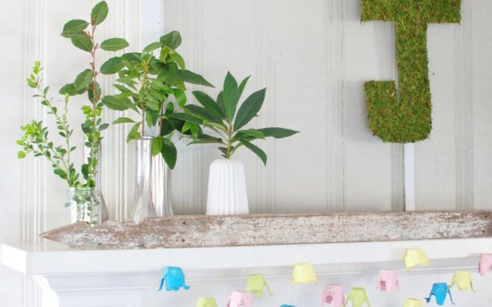 s these are the hottest diy spring trends of 2016, crafts, seasonal holiday decor, Embrace the greenery everywhere