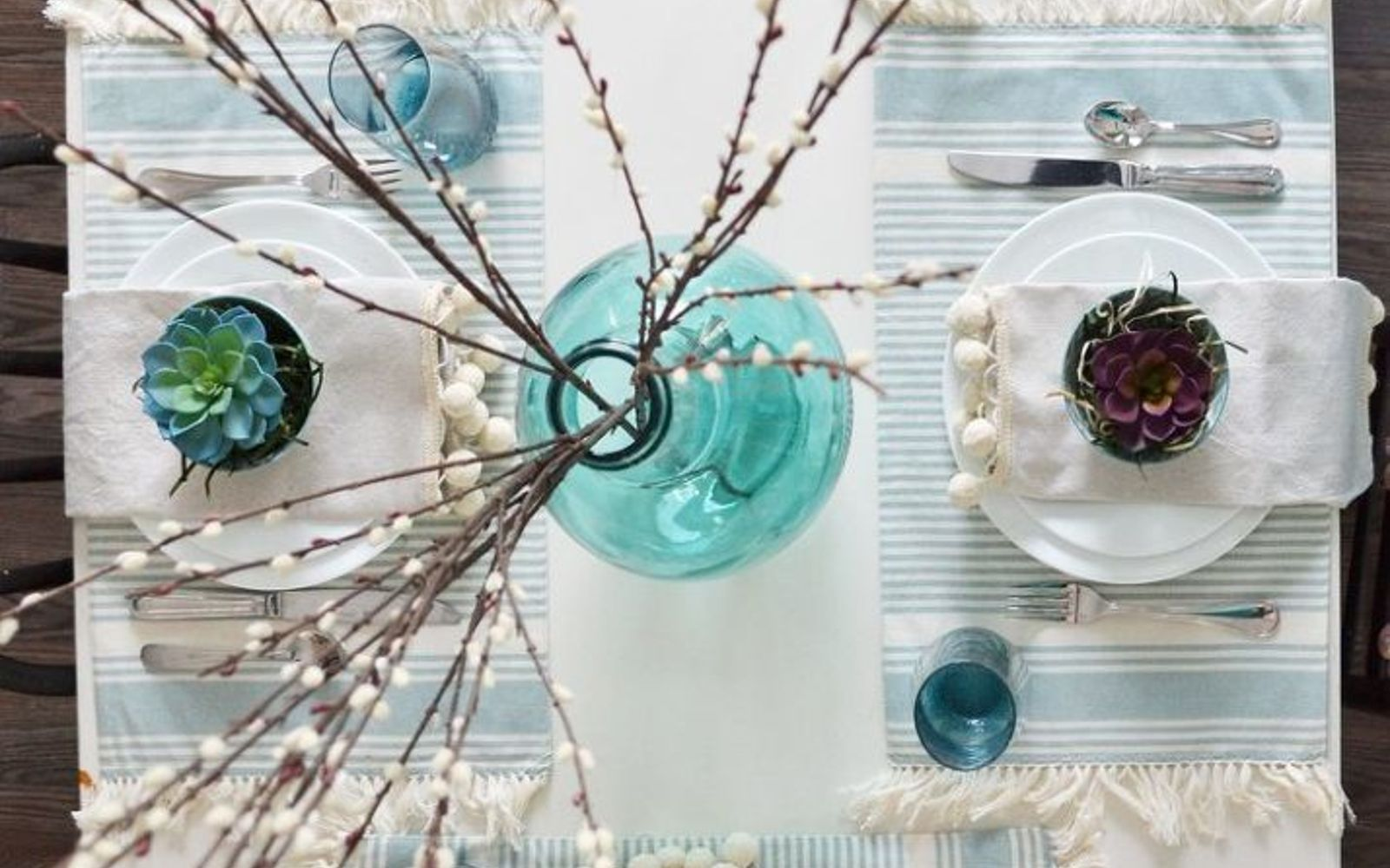 s these are the hottest diy spring trends of 2016, crafts, seasonal holiday decor, Use living elements on your spring table