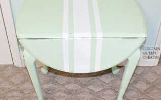 old drop leaf table in mint condition, chalk paint, how to, painted furniture