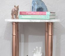 transform a side table from bleak to chic, how to, painted furniture