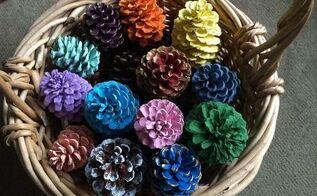 pine cone transformation, crafts