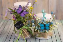 spring birch bark candle, crafts, seasonal holiday decor, DIY Spring Birch Bark Candles