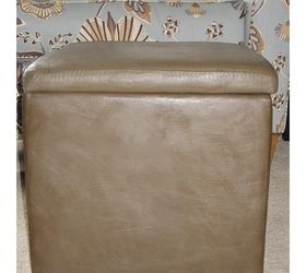 Turning Micro Suede Into The Look Of Leather With Paint, Chalk Paint, Painted  Furniture