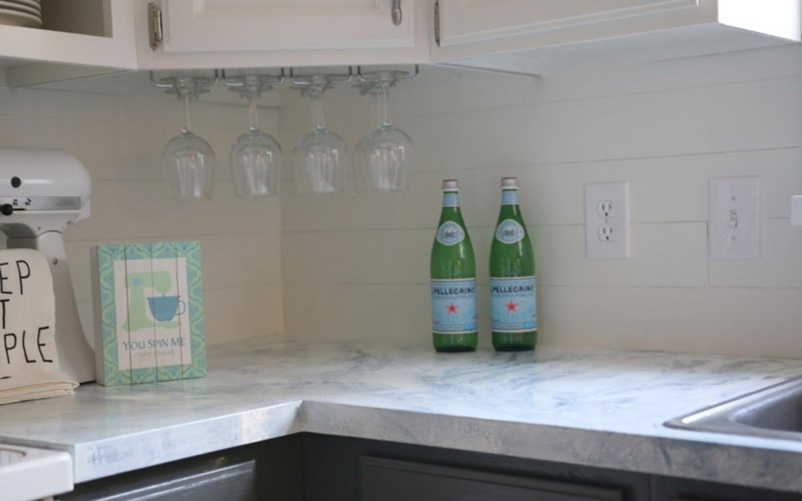 Kitchen Backspash Ideas 13 incredible kitchen backsplash ideas that aren't tile | hometalk