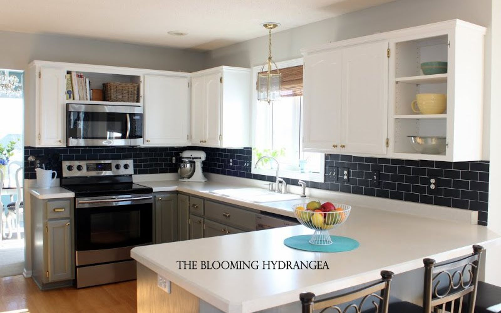 Backsplash Paint Ideas 13 incredible kitchen backsplash ideas that aren't tile | hometalk