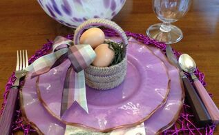easter basket table favors, crafts, easter decorations, how to, seasonal holiday decor
