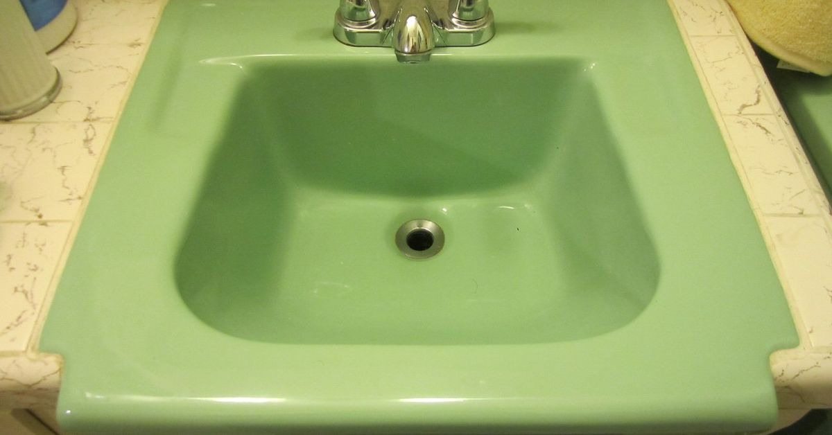 How To Fix A Hole In Vintage Porcelain Sink Hometalk
