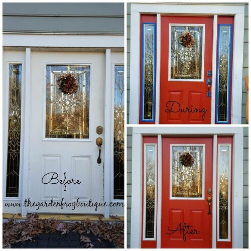 Painting A Metal Door With Chalkboard Paint Hometalk