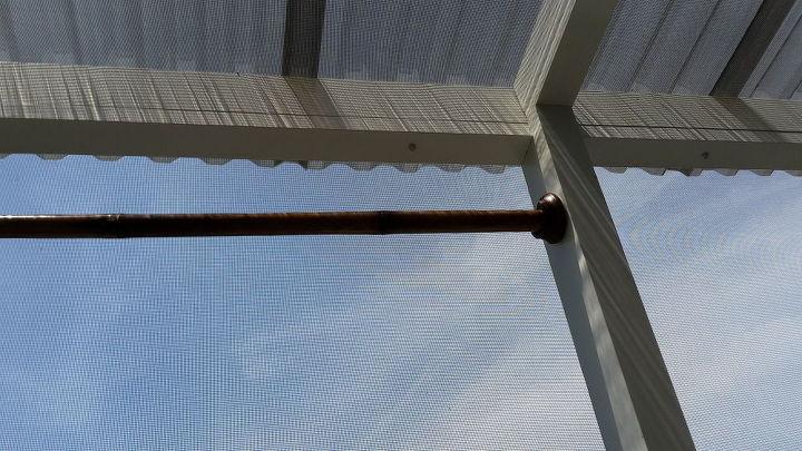 Outdoor Curtain Rods For Aluminum Screen Room Hometalk