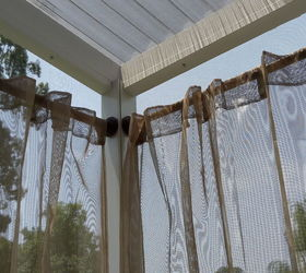 outdoor curtain rods for aluminum screen room outdoor living reupholster
