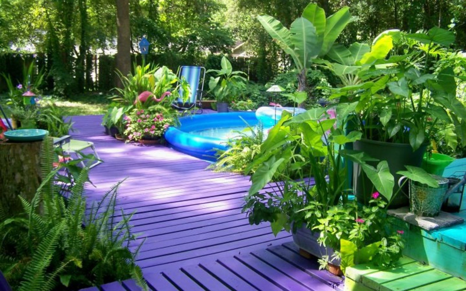 s 11 tips tricks for making your diy deck look amazing, decks, Paint it a color you love