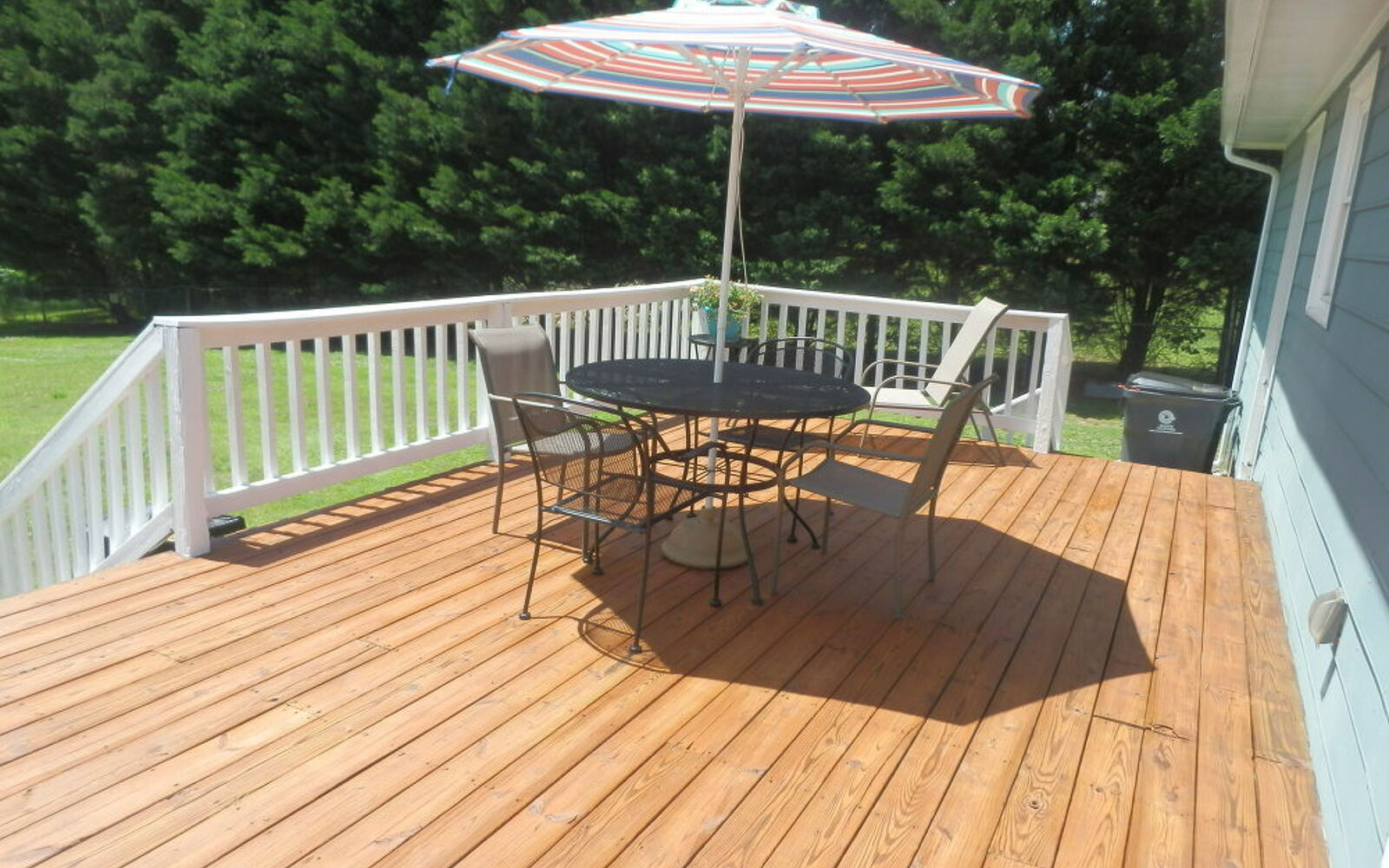 s 11 tips tricks for making your diy deck look amazing, decks, And don t forget to paint drab railings