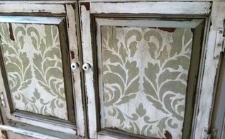 20 diy cabinet door makeovers with furniture stencils, chalk paint, painted furniture