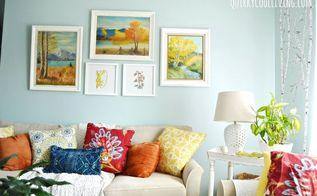 budget decorating, living room ideas, wall decor