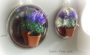 10 minute lavender wall scones, crafts, gardening, how to, wall decor