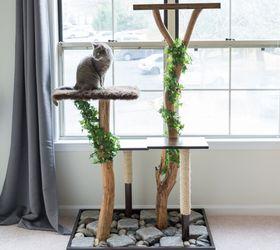 my real diy cat tree diy pets pets animals repurposing upcycling - Cat Jungle Gym