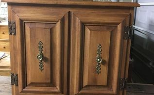 from boring to elegant generalfinishes pearleffects, painted furniture, BEFORE