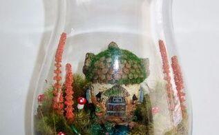 diy miniature fairy garden terrariums, crafts, gardening, terrarium