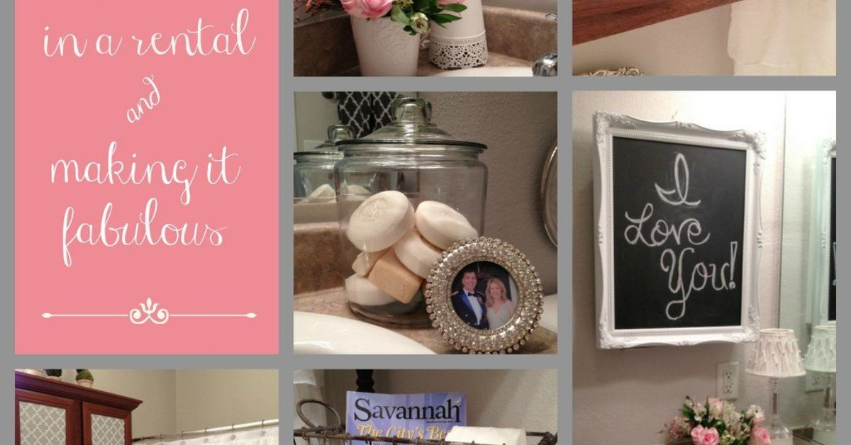 Tips For Decorating The Bathroom In A Rental House Hometalk