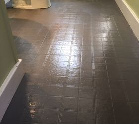 Bathroom Floor Tile Or Paint, Bathroom Ideas, Diy, Flooring, Painting