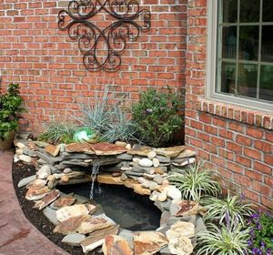 s 10 mini water features to add zen to your garden, outdoor living, ponds water features