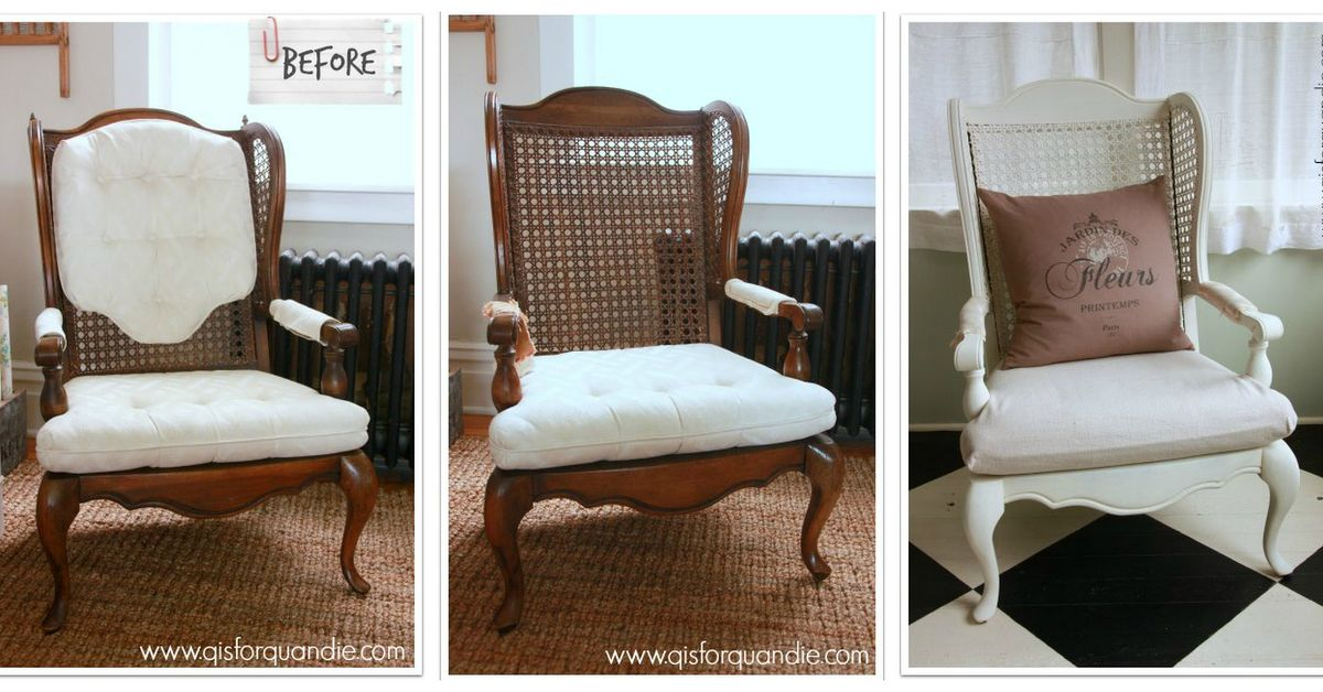 Cane Back Chairs Fixer Upper Style Hometalk