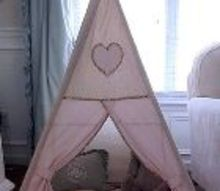 diy kids teepee step by step tutorial, entertainment rec rooms, how to, reupholster