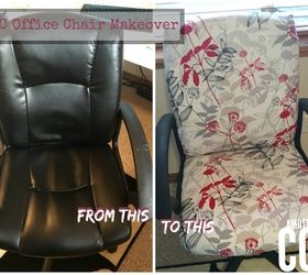 20 NoSew Office Chair Makeover Hometalk
