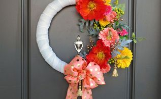 first impressions wreath, crafts, how to, wreaths