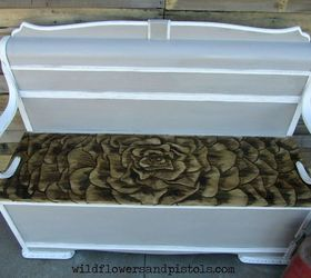 This Expanding Rose Bench