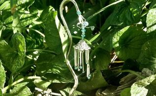 teeny tiny fairy wind chimes, crafts, gardening, how to