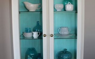 vanilla frosting with a splash of aqua, how to, painted furniture