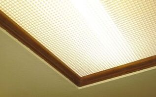 removing recessed box fluorescent lighting, home maintenance repairs, how to, lighting