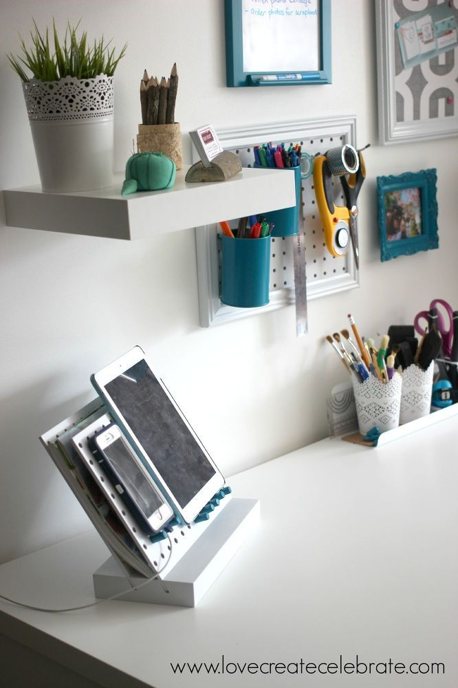interesting 18 photos office storage ideas in your home | 15 Ways to organize Every Messy Nook with Pegboard | Hometalk