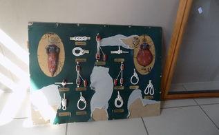 q framed sailor knots remake, crafts