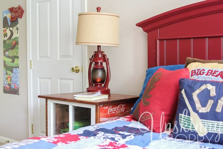 diy nightstands made from old coke crates hometalk