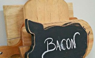 repurposed vintage plate holder, chalkboard paint, crafts, diy, kitchen design, repurposing upcycling