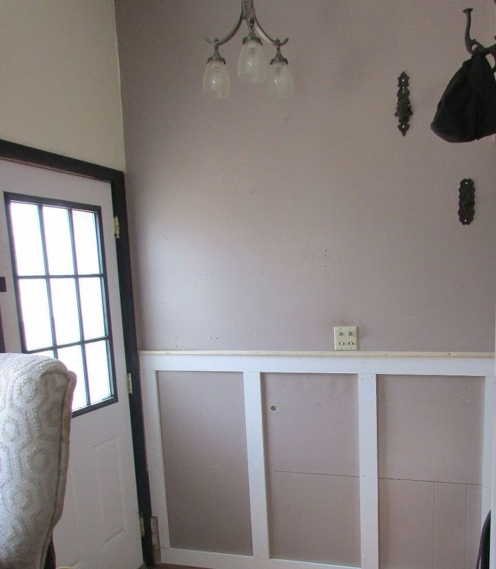 Adding Industrial Modern Wainscoting For A High Traffic