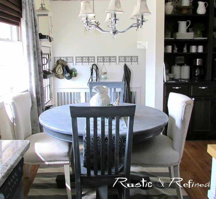 Adding Industrial / Modern Wainscoting For A High Traffic