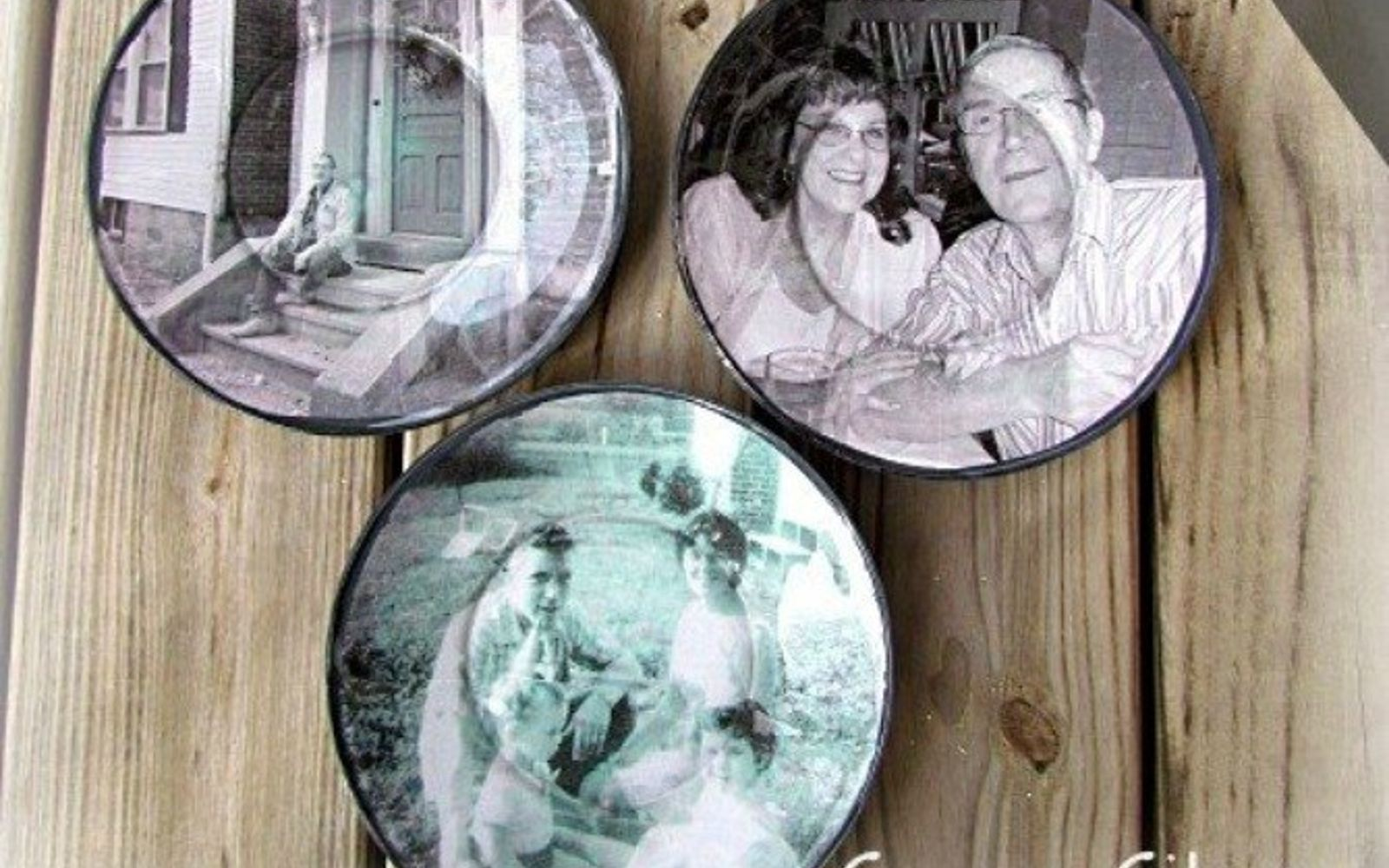 s 17 high end ways to use mod podge in your home, crafts, decoupage, home decor, Paste photos to plates for interesting art