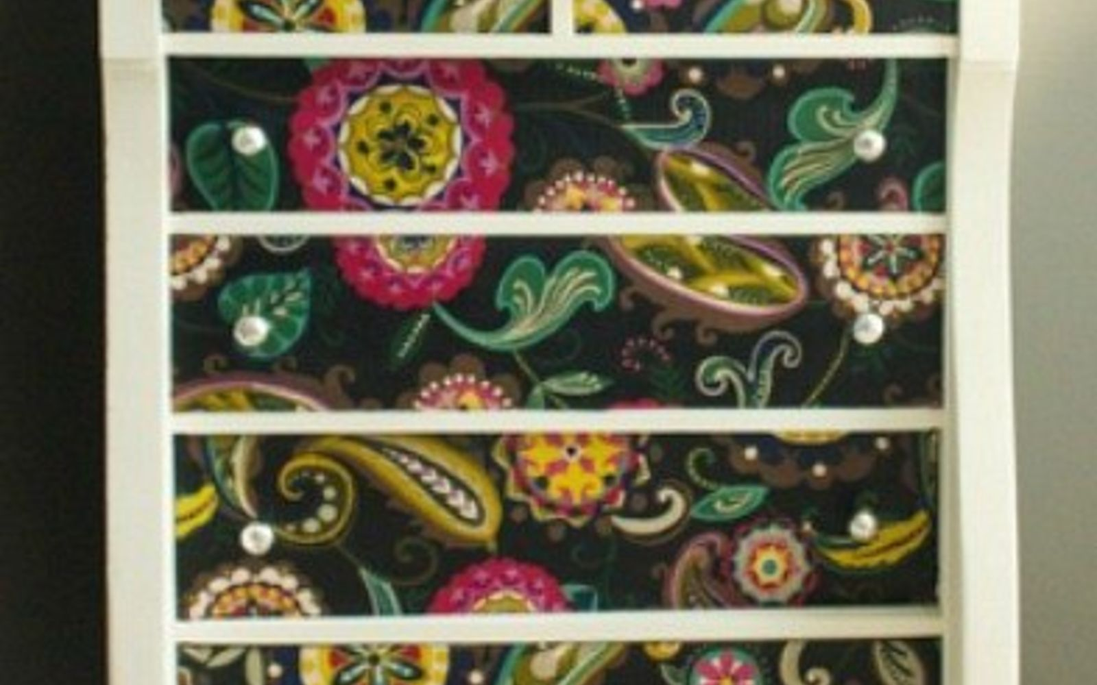 s 17 high end ways to use mod podge in your home, crafts, decoupage, home decor, Cover an old dresser in colorful fabric
