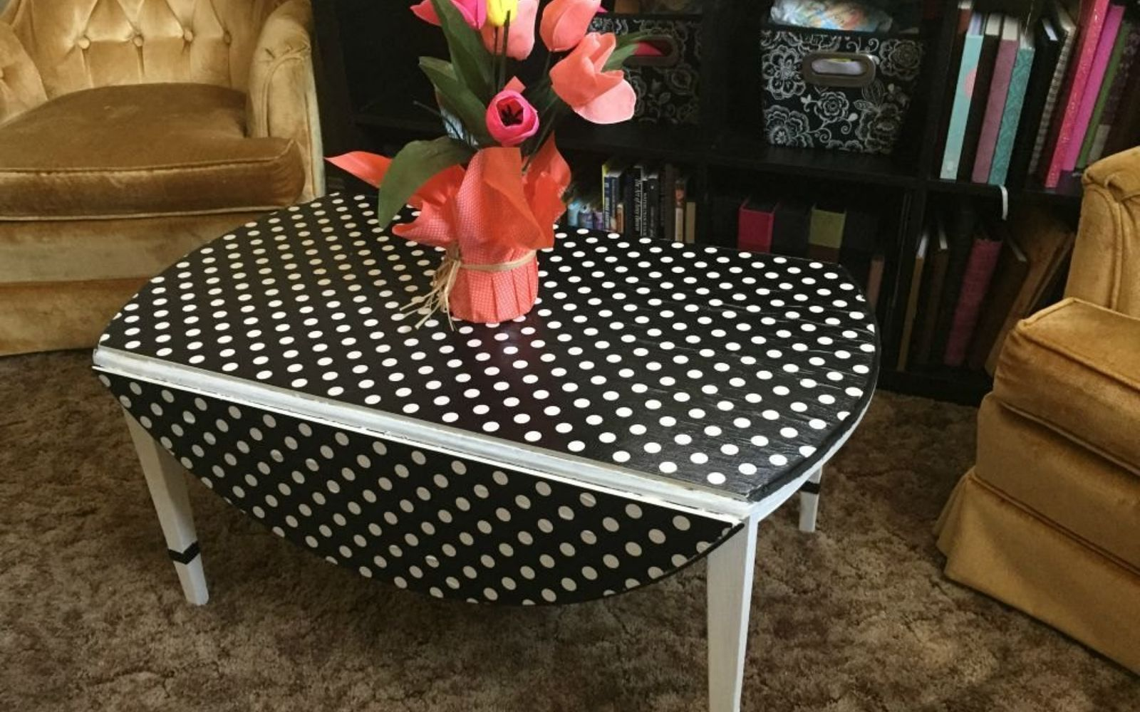 s 17 high end ways to use mod podge in your home, crafts, decoupage, home decor, Give more pep to an old coffee table