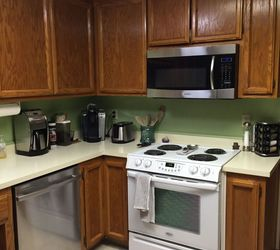 Kitchen Backsplash Vinyl Using Vinyl Smart Tiles To Update My Kitchen |  Hometalk