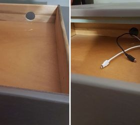 Diy Flip Turn A 3 End Table Into A Beautiful Charging Station, Bedroom  Ideas,