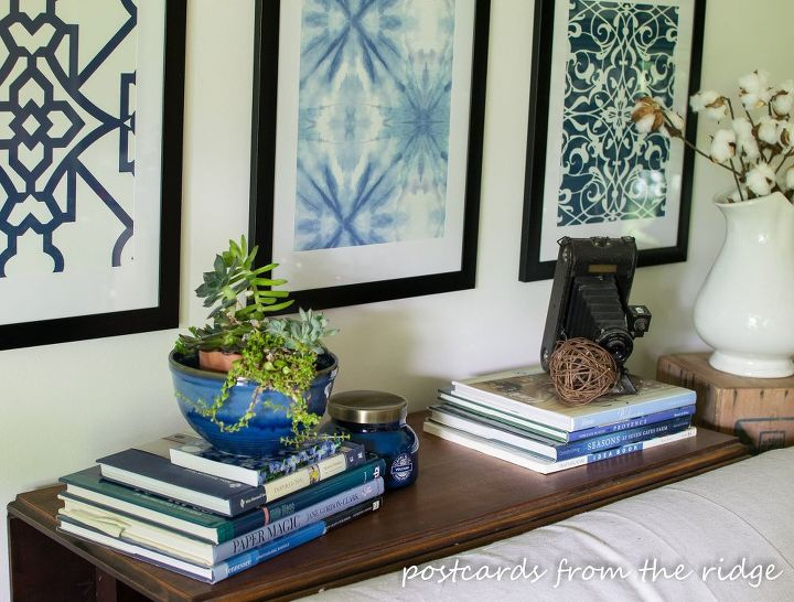 pottery barn inspired framed wallpaper artwork crafts how to repurposing upcycling wall