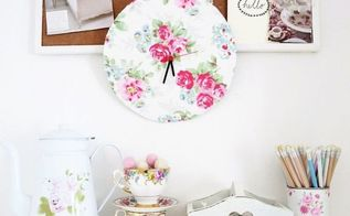 grab your recycling make a clock out of cardboard, crafts, decoupage, how to