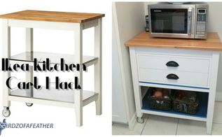 ikea stenstorp kitchen cart hack, diy, how to, kitchen design, kitchen island, repurposing upcycling, storage ideas, woodworking projects
