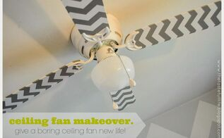 cheap and easy ceiling fan makeover, crafts, how to, wall decor