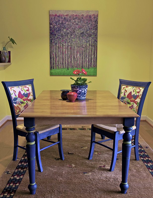 A Beautiful Reunion Broken Chairs And The Mis Matched Table Dining Room Ideas Diy