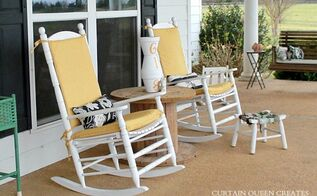 3 step diy covering outdoor cushions, how to, outdoor furniture, reupholster